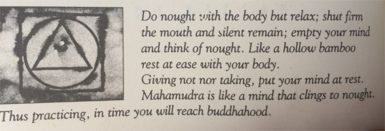 "The song of Tilopa. Text taken from Osho's book, ""Intimacy, trusting oneself and the other"""