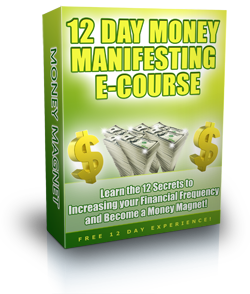 Click Here to Sign Up for the FREE 12 Day Money Magnet Manifesting Ecourse!