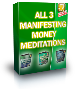 All 3 Manifesting Meditations on MP3 Audio!