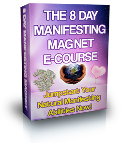 A powerful 8 day email ecourse that has the most essential yet transformational tools to jumpstart your manifesting vibration!